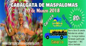 Carroza Carnaval Canario-CabalgataMaspalomas-80€