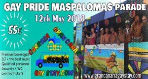 Pride Maspalomas Parade Float2018-GCGayStay-en