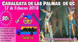 carroza carnaval canario-Cabalgata Las Palmas-80€