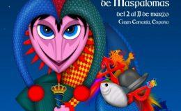 Cartel Carnaval Maspalomas 2018-Carroza Carnaval Canario
