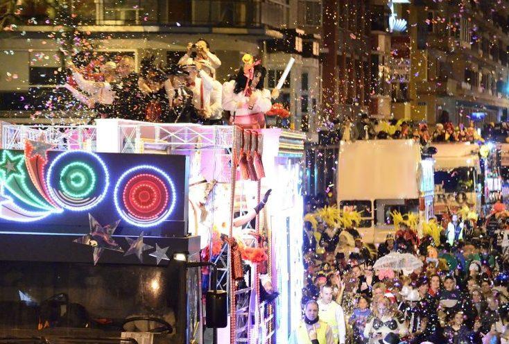 Resultado de imagen de carnaval de Vecindario cabalgata 2019