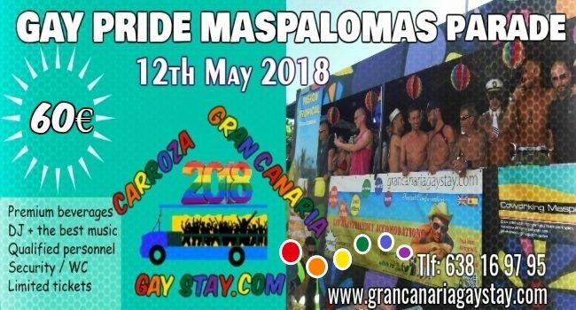 gay pride maspalomas 2019 programa hoy